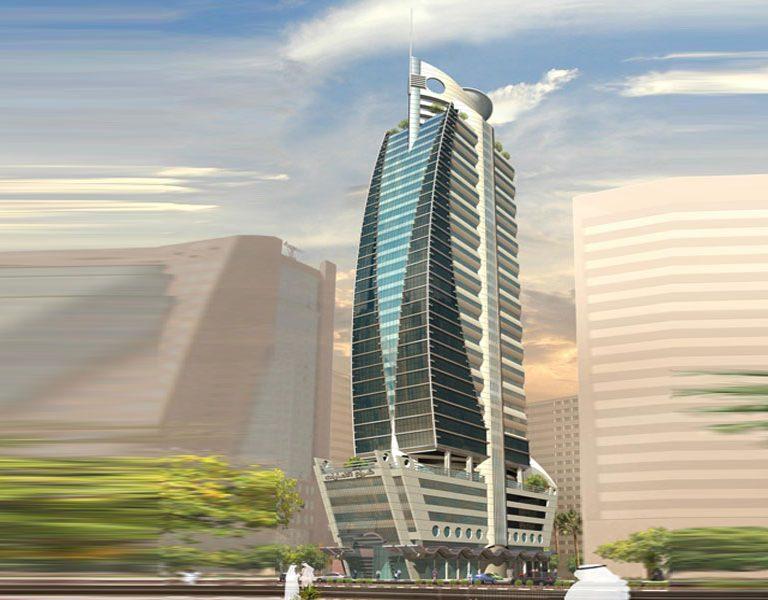 Emirates Sail Tower-Sharjah