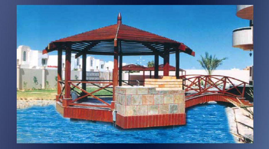 Timber Pergola & Bridge